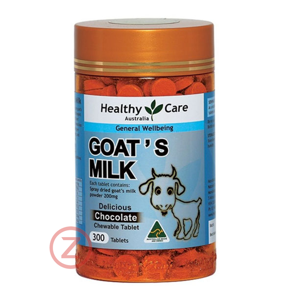 Healthy Care Goat Milk Tablets - Chocolate