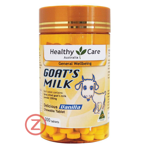 Healthy Care Goat Milk Tablets - Vanilla