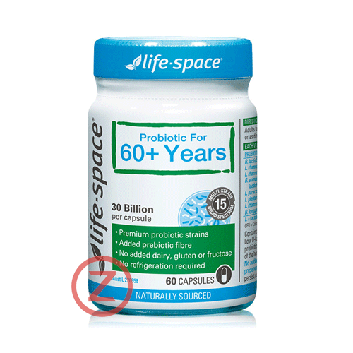 Life-Space Elders Probiotics 60+