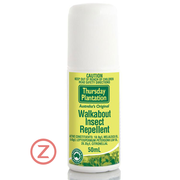 Thursday Plantation Tea Tree Walkabout Insect Repellent