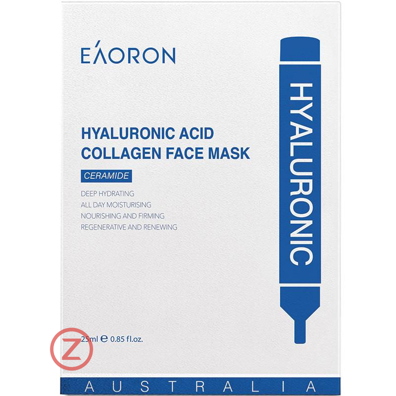 Eaoron Hyaluronic Acid Collagen Mask white