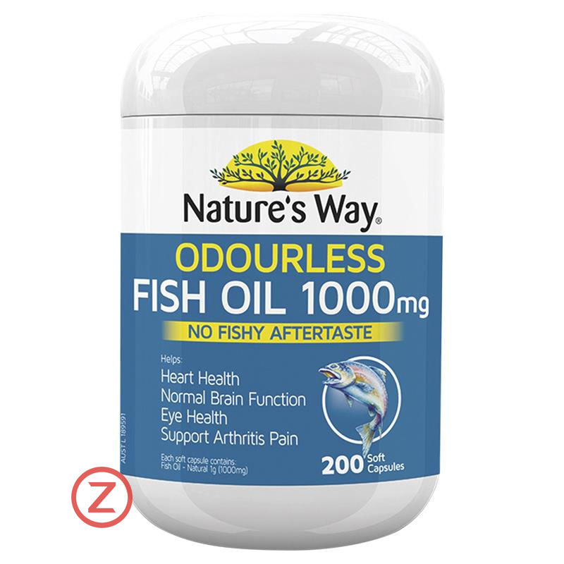 Nature's Way Odourless Fish Oil 100mg