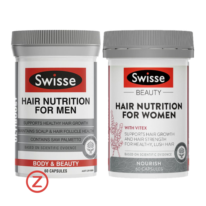 Swisse Hair Nutrition For Men & Women ဆံပင်သန်ဆေး