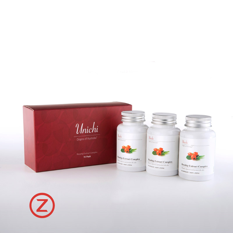 Unichi  Rosehip Extract  Tri Pack