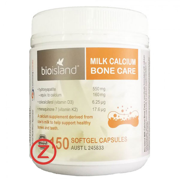 Bio Island Adult Milk Calcium- Bioisland