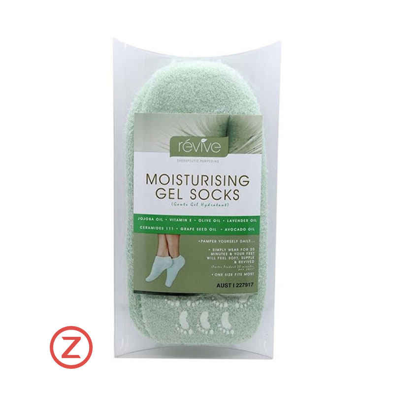 Revive Moisturising Gel Socks