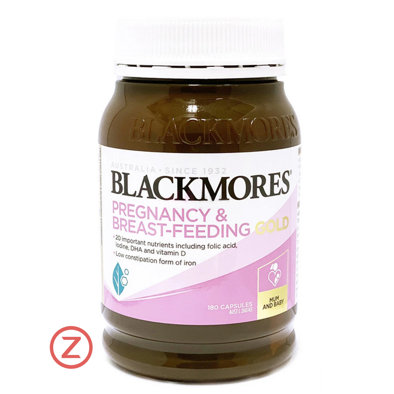 Blackmores Pregnancy & Breast-Feeding Gold အားဆေး