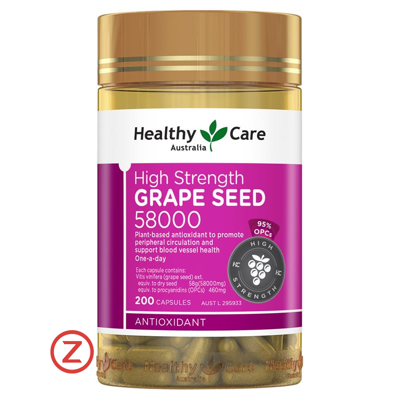 Healthy Care Grape Seed 58000
