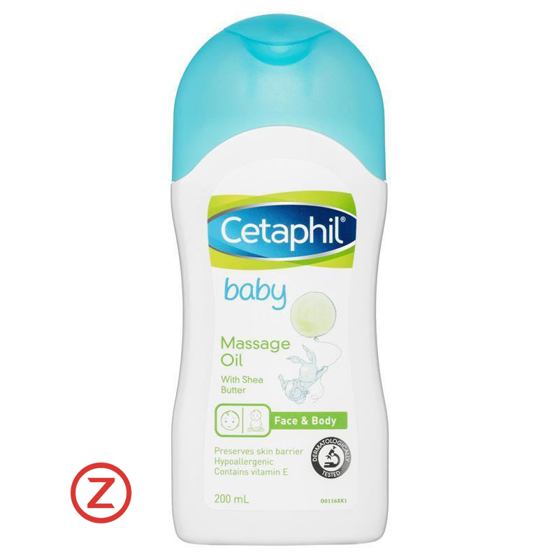 Cetaphil Baby Massage Oil - Face & Body