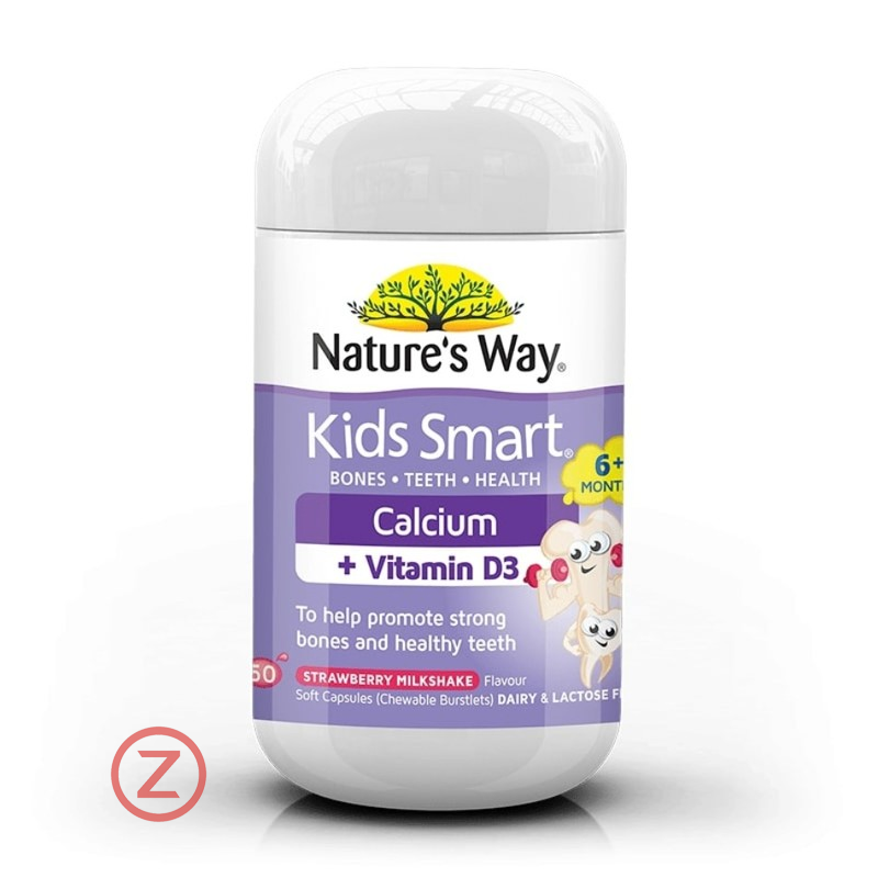 Nature's Way Kids Smart Calcium Vitamin D3