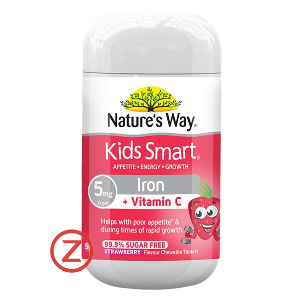 Nature's Way Kids Smart Iron+Vitamin C